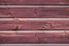 Fond vieilles planches horizontales avec des restes de peinture brune images libres de droits