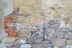 Fond - vieux mur Photos libres de droits