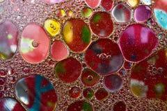 Fond vif créatif de bulles colorées abstraites images libres de droits