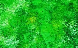 Fond vif mou romantique jaune vert d'aquarelle de peinture, fond de peinture abstrait d'aquarelle photographie stock libre de droits