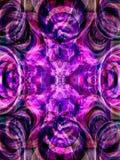 Fond violet Photographie stock libre de droits