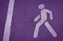 Fond violet Photo libre de droits