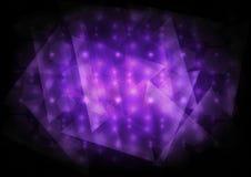 Fond violet abstrait Photos libres de droits