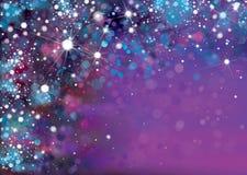 Fond violet abstrait de vecteur Photographie stock