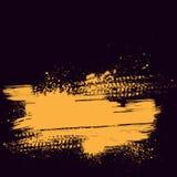 Fond orange de voie de pneu Image libre de droits