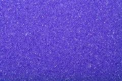 Fond violet d'éponge de mousse de cellulose de texture Photos libres de droits