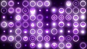 Fond violet d'anneaux illustration stock