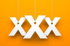 Fond XXx Image libre de droits