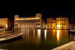 Fondaco dei Turchi, Natural history museum Venice, Italy stock images