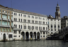 Fondaco Tedeschi, Grand Canal, Venice Stock Photo