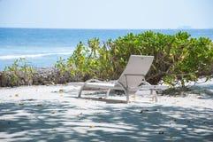 Fondale marino che affronta la foto marina dalla sabbia bianca laterale Fotografia Stock Libera da Diritti
