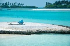 Fondale marino sulla riva di mare - mare bianco della sabbia Fotografia Stock Libera da Diritti