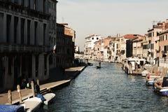 Fondamenta de Canaregio, Венеция, Италия, Европа Стоковое Изображение