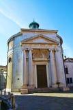 Fondamenta de la Maddalena and church, Venice, Italy, Europe. Fondamenta de la Maddalena, historical church and square, in Venice, Italy, Europe royalty free illustration