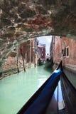 Fondamenta Vin Castello, Venecia (Italia) Fotografía de archivo