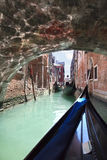 Scenic view of embankment Fondamenta Vin Castello, Venice - Italy Stock Photography