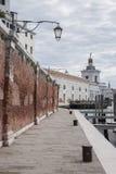 Fondamenta Zattere Ai Saloni Walkway, Venice Stock Image