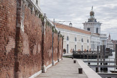 Fondamenta Zattere Ai Saloni Walkway, Venice Royalty Free Stock Images