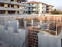 Fondamento della costruzione Immagini Stock Libere da Diritti