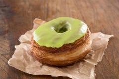 Fondant της Apple croissant και doughnut μίγμα Στοκ Φωτογραφία