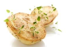 Fondant Potatoes Stock Photo