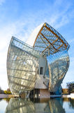 Fondation Louis Vuitton Image stock
