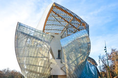 Fondation Louis Vuitton Lizenzfreies Stockfoto