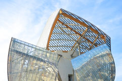Fondation Louis Vuitton Lizenzfreies Stockbild