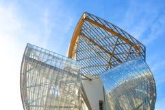 Fondation louis vuitton Stock Photo