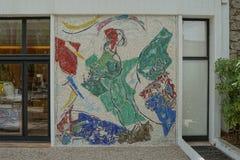 Fondation Maeght, Heilige Paul de Vence, Frankrijk Royalty-vrije Stock Afbeeldingen
