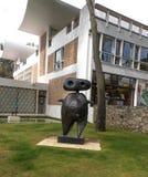 Fondation Maeght scupture De Joan Miro Obraz Royalty Free
