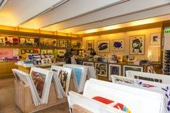 Fondation Maeght souvenir shop Stock Photography