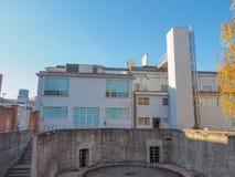 Fondazione Merz美术画廊在都灵 免版税库存照片