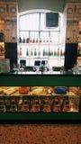 Fondazione Prada Milano Bar Luce. A cafè near Fodanzione Prada in Milan, Italy Royalty Free Stock Photos