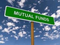 Fondi di investimento mutualistici Fotografia Stock