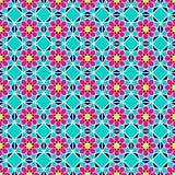 fondo árabe colorido Modelo inconsútil islámico Colores brillantes de moda impresión geométrica del vector Islámico decorativo ilustración del vector