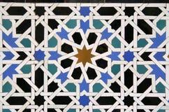 Fondo árabe del azulejo Foto de archivo libre de regalías