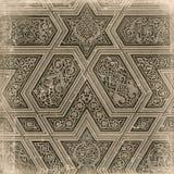 Fondo árabe tradicional del ornamento Foto de archivo