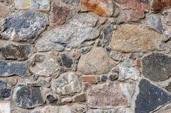 Fondo áspero de la pared de piedras Imagen de archivo