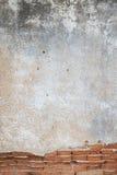 Fondo áspero de la textura del color anaranjado del ladrillo Imagen de archivo
