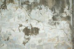 Fondo áspero y de la grieta viejo de la pared del cemento Foto de archivo libre de regalías