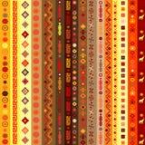 Fondo étnico del modelo de los adornos Foto de archivo libre de regalías