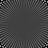 Fondo óptico psicodélico de la ilusión de la vuelta fotos de archivo libres de regalías