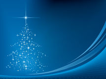 Fondo 02 de la Navidad stock de ilustración
