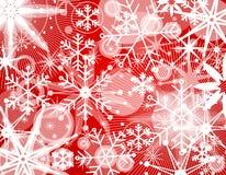 Fondo 2 del collage del fiocco di neve Immagine Stock