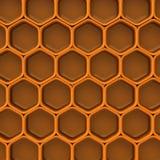 Fondo 3d de la miel Fotografía de archivo libre de regalías