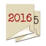 Fondo 2016 Fotografia Stock
