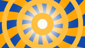 Fondo añil-anaranjado de Hipnotic almacen de metraje de vídeo