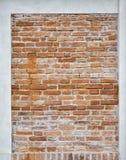Fondo abandonado de la pared del estuco del ladrillo del grunge Imagen de archivo libre de regalías