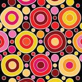 Fondo aborigen del vector del arte Imágenes de archivo libres de regalías